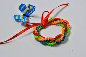 Pandahall Tutorial On How To Paper Bracelet Fun Family Crafts