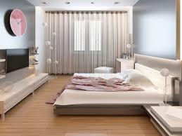 chambre lumiere chambre à coucher dans la lumière orientale de style avec les fleurs