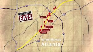 buford hwy map of restaurants atlanta eats