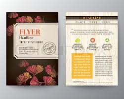 flyer graphic design layout brochure flyer graphic design layout vector template in a4 size with