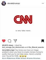Parody Meme - meme general don jr posts cnn facts first aka fake news parody