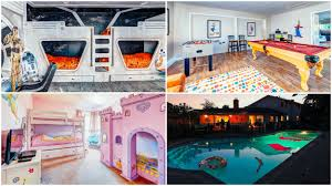select from 5 kid kingdoms for your next family getaway