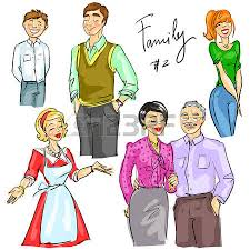 family set 1 royalty free cliparts vectors and stock