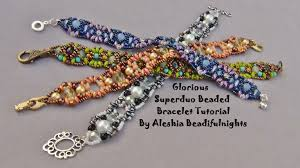 beaded butterfly bracelet images Glorious superduo beaded bracelet tutorial jpg