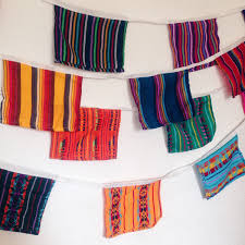 mexican flag banner fiesta decorations mexican bunting