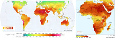 Map Of The Africa by Alternative Energy In East Africa The Case For Solar Power Mars