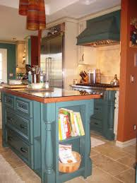 antiqued kitchen cabinets