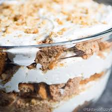 spruce up a carrot cake mix by layering it with walnuts and a