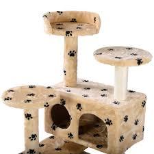 Cat Scratch Lounge Cat Tree Tower Condo Furniture Pet House Cat Furniture Cat