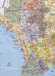 Map Burma Myanmar Tourist Map Myanmar U2022 Mappery