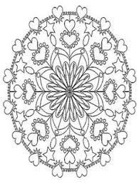 free coloring coloring flowers mandala coloring