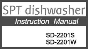 Hotpoint Dishwasher Manual Spt Countertop Dishwasher Parts U0026 Manual For Repairs