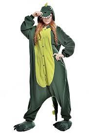 Animal Halloween Costumes Men Amazon Dinosaur Onesie Animal Kigurumi Pajamas