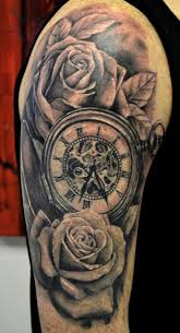 303 best tattoos images on pinterest rose tattoos watches and death
