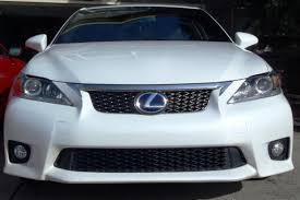 lexus ct 200h for sale calgary new f sport grille and bumper protector