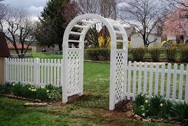 white trellis fence home u0026 gardens geek