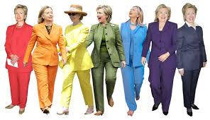 see clinton s colorful pantsuits instyle