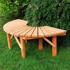 customer reviews for fsc semicircle tree bench greenfingers com