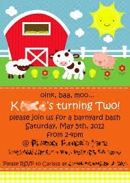 farm party invitations cloveranddot com