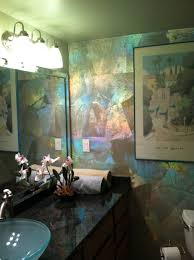 Feature Wall Bathroom Ideas Colors Iridescent Foil Feature Wall 6013 Bonneau Pinterest Walls