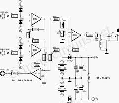 ecg amplifier by tlc274 circuit diagram