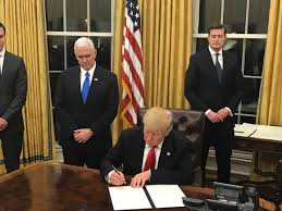 Oval Office Drapes First Look At President Trump In Oval