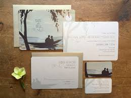 destination wedding lake wedding invitations ocean wedding