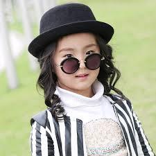 wild anti uv metal kids boys cool glasses girls sunglasses