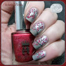 winter berries nail art from the vault pointless cafe