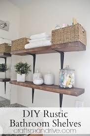 Shelves In Bathrooms Ideas 30 Diy Storage Ideas To Organize Your Bathroom Diy Projects