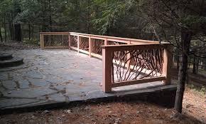 decorative metal deck railing home u0026 gardens geek