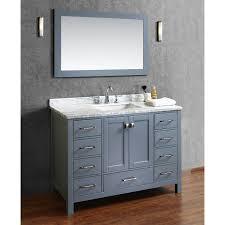 beautiful 48 inch double sink bathroom vanity with avola ideas