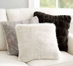 Pottery Barn Faux Fur Pillow 46 Best Bergman A U0027s Room Images On Pinterest Accent Chairs