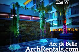wedding arches san diego inspiration arc de wedding arch canopy rental