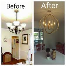 hula hoop chandelier instructions take down your old ugly