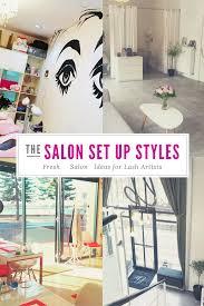 eyelash extensions salon set up ideas store fronts extensions