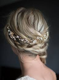 how to wrap wedding hair best 25 gold hair accessories ideas on pinterest gold leaf