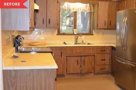 ikea kitchen cabinet doors peeling blue ikea cabinet kitchen reno apartment therapy