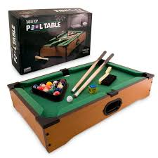 tabletop pool table realistic billiard experience coolthings