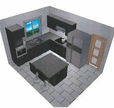 plan cuisine 10m2 ordinaire dimension plan de travail cuisine 10 cuisine