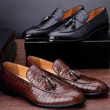 wedding shoes office new fashion genuine leather matching men suit dress shoes office