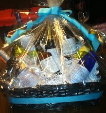 Bridal Shower Wine Basket A Poet Ribbon Spirit U003d Bridal Shower Gift Go2