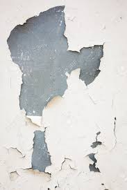 Off White Paint Old Flaky White Paint Peeling Off Of A Wall Stock Photo Picture