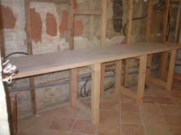 meuble cuisine a poser sur plan de travail poser un plan de travail cuisine maison design bahbe com