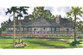 craftsman house plans vista 10 154 associated designs craftsman house plan vista 10 154 rear elevation