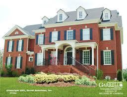 revival house plans harbormont house plan house plans by garrell associates inc