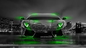 neon green lamborghini aventador lamborghini aventador front city car 2014 el tony