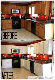 should you paint cabinets or replace countertops how to paint cabinets budget kitchen makeover kitchen