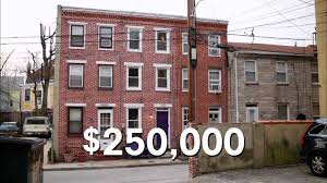 row houses the straight skinny on baltimore u0027s slim row houses youtube