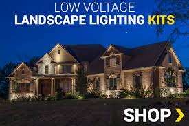 Landscaping Lighting Kits by Low Voltage Led Landscape Lighting 12v Outdoor U0026 Garden Lighting
